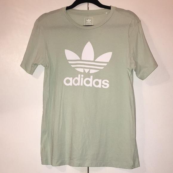 e256c43162846 Mint Green Adidas Trefoil Tee